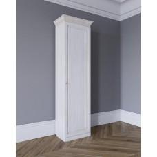 Шкаф для одежды на 450 Леди-модуль цвет Белая эмаль