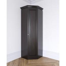 Угловой шкаф из массива Леди-модуль цвет Антик