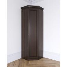 Угловой шкаф из массива Леди-модуль цвет Орех