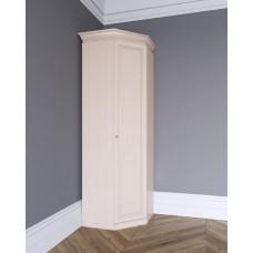 Угловой шкаф из массива Леди-модуль цвет Слоновая кость