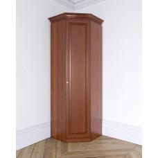 Угловой шкаф из массива Леди-модуль цвет Терракот