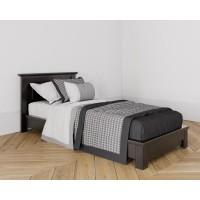 Кровать без изножья 90X200 цвет Антик