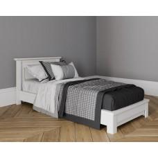 Кровать без изножья 90X200 цвет Белая эмаль