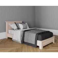 Кровать без изножья 90X200 цвет Слоновая кость