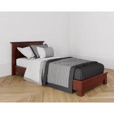 Кровать без изножья 90X200 цвет Вишня