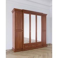 Леди Шкаф 5-и дверный цвет Терракот