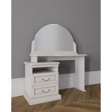 Стол туалетный Леди в цвете Белая эмаль