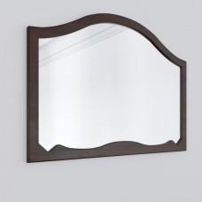 Зеркало из массива накомодное Суламифь цвет Вишня